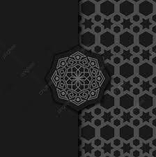 ترف خلفية تصميم ماندالا الزينة في اللون الداكن نبذة مختصرة عربى
