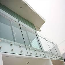 standoff used for frameless glass railing