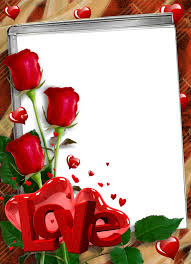 love red frame png png all