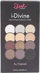 i divine eyeshadow palette au naturel