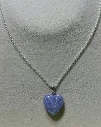 puffy purple glitter beaded crystal
