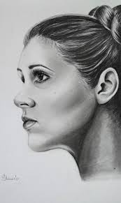 Princess Leia Drawing by Adriana Holmes | Saatchi Art
