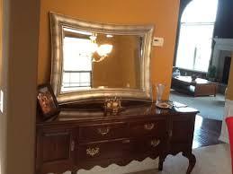paint mirror frame