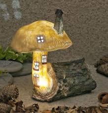 garden glows solar led fairy house the