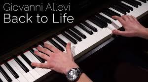 Giovanni Allevi - Back to Life - Piano - YouTube