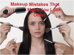 yourself look older se makeup