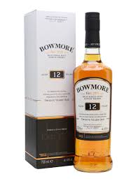 bowmore 12 year old scotch whisky the