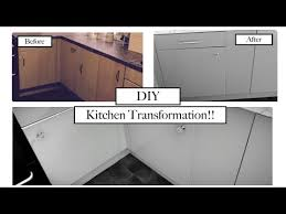 how to fablon kitchen cupboards diy