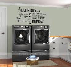 Laundry Room Wall Decals Laundry Room Decals Laundry Subway Etsy