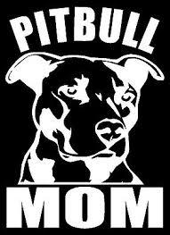 Pitbull Mom Vinyl Decal Sticker Car Window Bumper Wall I Love My Rescue Dog 4923273163110 Ebay