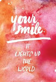 your smile it lights up the world from the domexperiment com