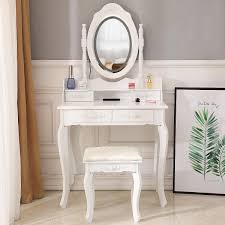 makeup vanity table set with lights led