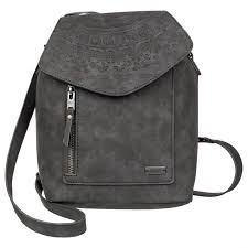 river 6l small faux leather backpack