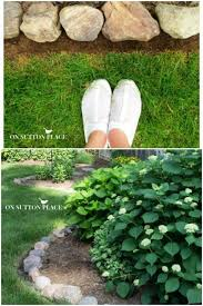 17 diy garden edging ideas that bring