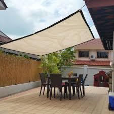 Wonderful 1 8m Sunproof Sun Shade Sail Outdoor Anti Uv Awning Mesh Net Canopy Garden Shopee Philippines