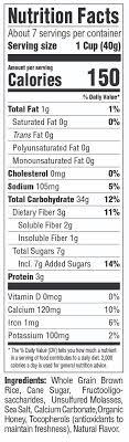 organic brown rice crisps cereal