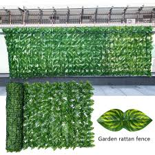 Artificial Leaf Screening Roll Uv Fade Protected Privacy Hedging Wall Landscaping Garden Fence Balcony Screen Home Party Decor Fencing Trellis Gates Aliexpress