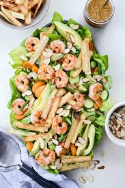 Shrimp Salad with Crispy Wontons ...