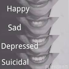 love depression happy and sad quotes home facebook