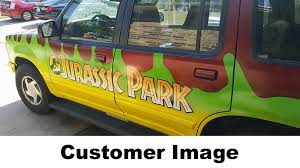 Jurassic Park Explorer Decal Kit Jp Gear