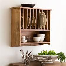 wall mounted plate rack wall mount