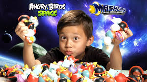 The Ultimate ANGRY BIRDS SPACE MASH'EMS Adventure!!! - EPIC ...