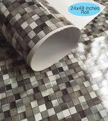 Wall Tile Decals Vinyl Sticker Waterproof Wallpaper For Etsy In 2020 Vinyl Backsplash Tile Decals Kitchen Wallpaper