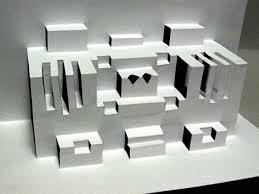 Resultado de imagen de de lo bidimensional a lo tridimensional en papel