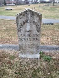 Tennessee Caroline Porter Carr (1850-1936) - Find A Grave Memorial
