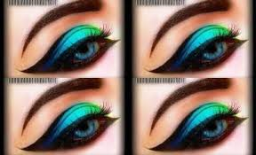 spring time exotic eyeshadow tutorial