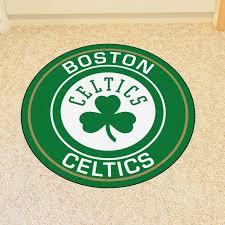Fanmats Nba Boston Celtics Roundel 27 In X 27 In Non Slip Indoor Only Mat Wayfair
