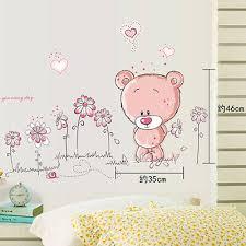 Paddington Bear Wall Sticker Padd 001 Art Mural Kids Bedroom Decal Nursery