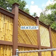 Synthetic Bamboo Tiki Fence Panels Beatlespark