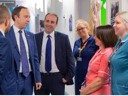 Health Secretary welcomes investment at Royal Stoke | Aaron Bell MP