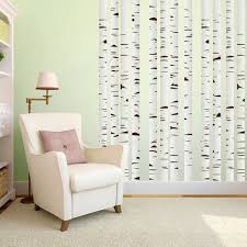 Shop Printed Set Of Birch Trees Wall Decals On Sale Overstock 10670678