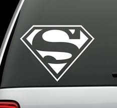 Superman Dc Comics Vinyl Decal Auto Graphics Window Wall Sticker 4 Wide For Sale Online