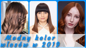 Top 20 Modny Kolor Wlosow W 2019 Youtube