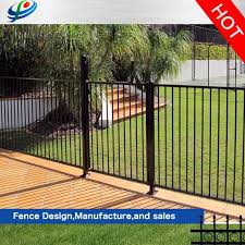 China Australia Black Powder Coated Aluminum Flat Top Swimming Pool Fence Panel China Swimming Pool Fence And Aluminum Fence Price