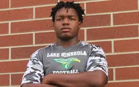 Lake Minneola OT Derrick 'DLo' Graham Jr. excited about commitment to Troy  - Orlando Sentinel