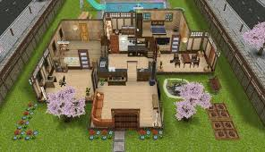 sims freeplay modified japanese house