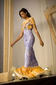 Tree-like gown takes top prize in high school design contest   Cornell  Chronicle