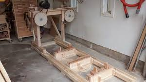 homemade bandsaw mill by