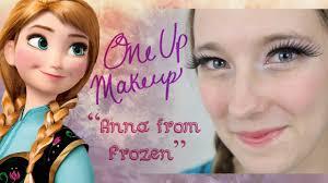 anna frozen makeup tutorial you