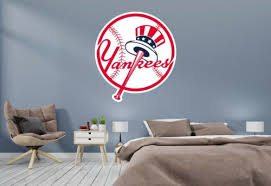 Home Garden Baseball Team Logo New York Yankees Wall Decal For Home Interior Car Agenturamatlovicova Sk