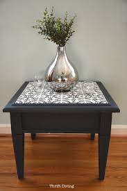 table top with your own ceramic tiles