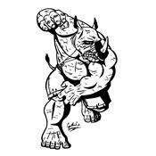 Kleurplaat Ninja Turtles 1047