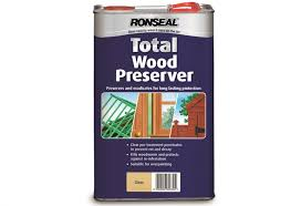 Ronseal Total Wood Preserver Clear 5 Litres From Alsford Timber