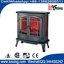 3 sided electric stove sf 28 real log