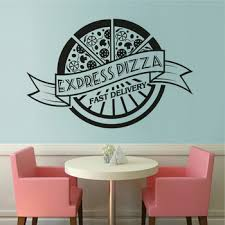 Pizza Shop Wall Decals Shop For High Quality Pizza Shop Wall Decals Free Worldwide Shipping