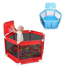 8e650 Baby Safety Playpen Fence Babies Folding Kids Park Baby Gate Play Pen Ball Baby Fencing Playground Play Yard Piscina De Pelotas